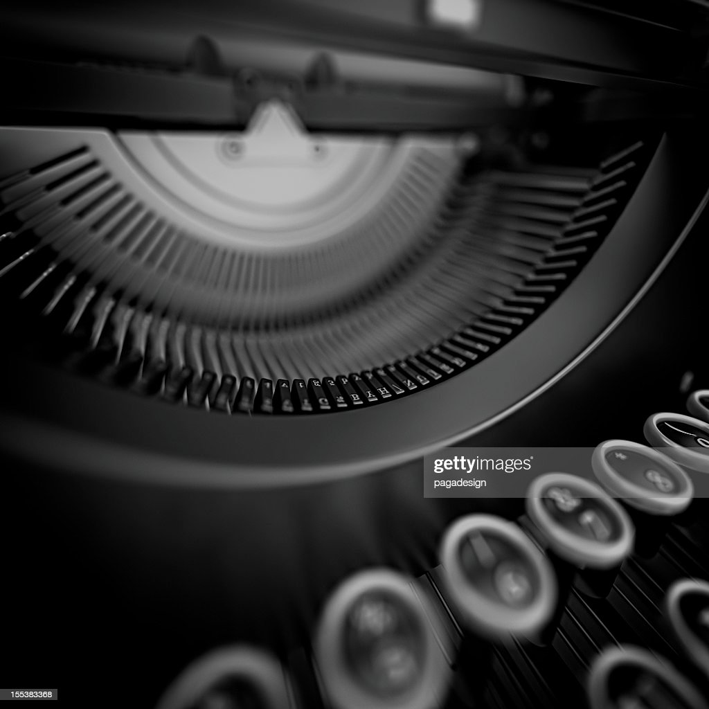 typewriter : Stockfoto