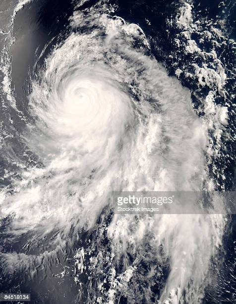 Typhoon Nakri off Japan on May 31, 2008 at 04 :40 UTC.