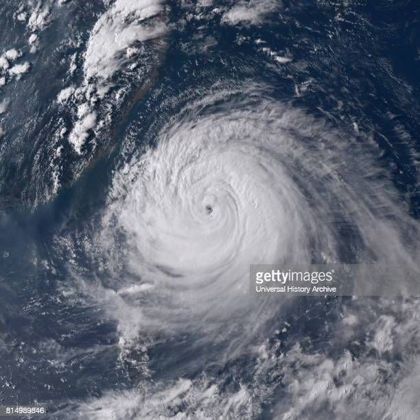 Typhoon Soudelor approaching Taiwan on August 7 2015 Typhoon Soudelor known in the Philippines as Typhoon Hanna was the second most intense tropical...