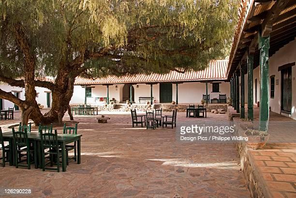typical argentine courtyard