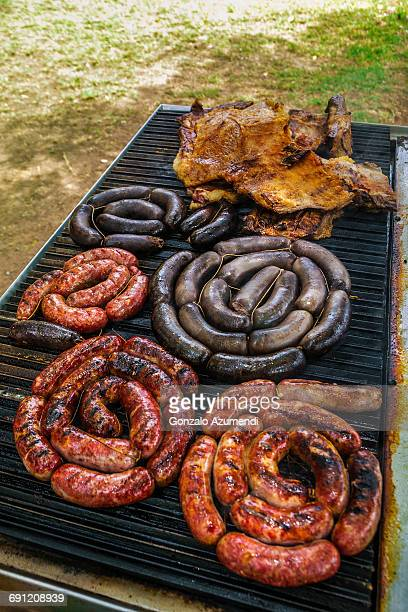 Typical Argentinian barbecue