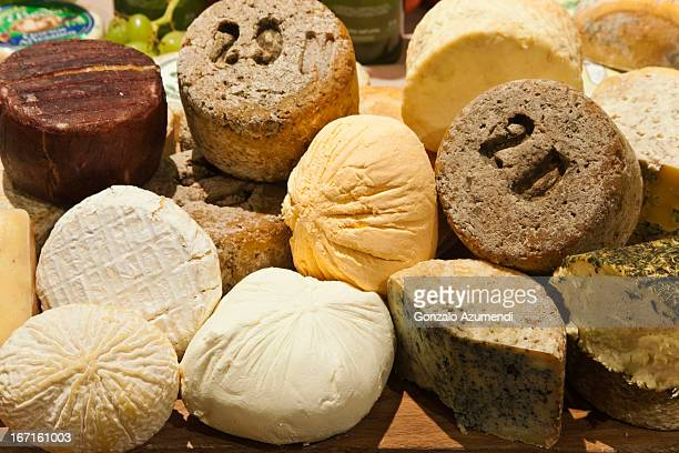 Typical Asturian cheese.