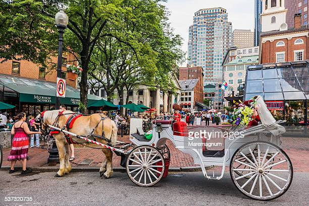 Typical cart near Faneuil Hall Marketplace