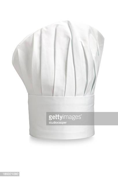 Typical Chefs hat on a white background