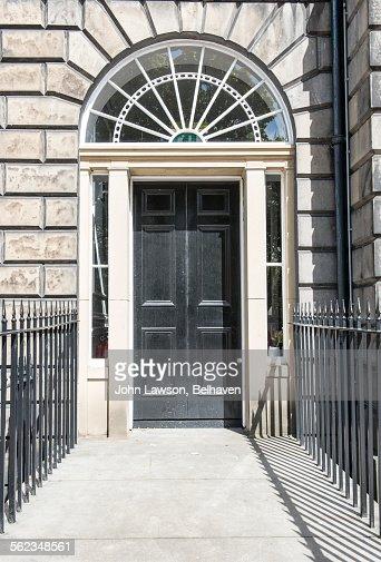 Typical doorway, Edinburgh New Town