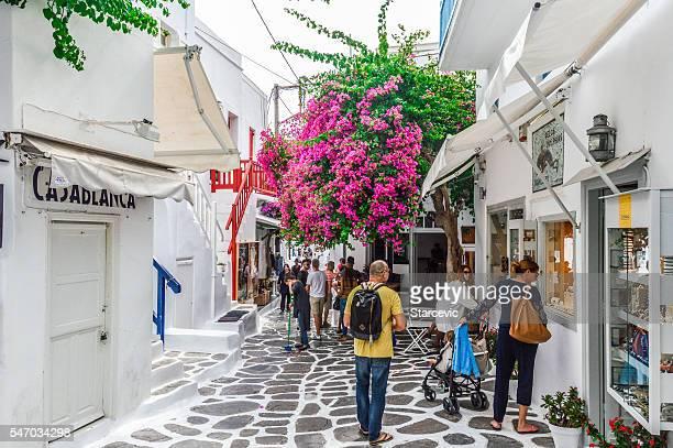 Typical Greek Island Architecture - Mykonos