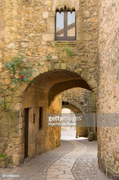 Typical house of Pals- Bajo Ampurdán- Catalonia- Spain