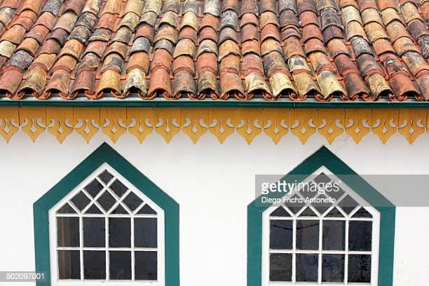 CONTENT] Typical houses of Ouro Preto Minas Gerais Brazil