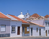 Typical houses, Tavira, Algarve, Portugal