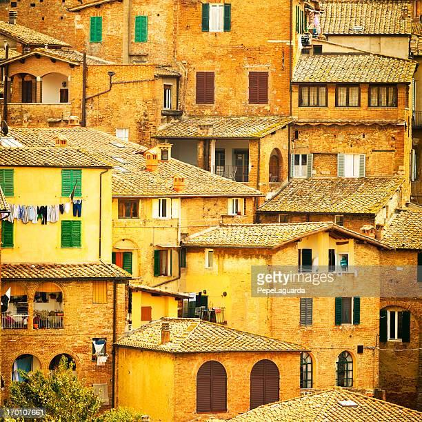 Tipica città italiana: Siena