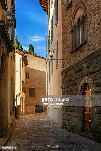 Typical Italian old city street
