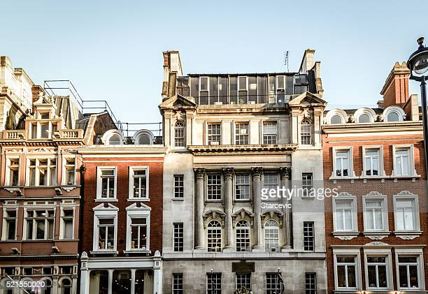 Typical London Victorian architecture