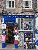 Typical souvenir shop, Edinburgh, Scotland