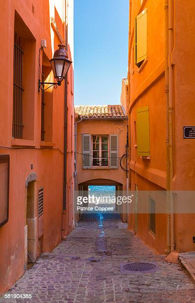Typical street of Saint Tropez