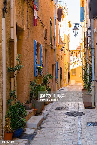Typical street of Saint Tropez