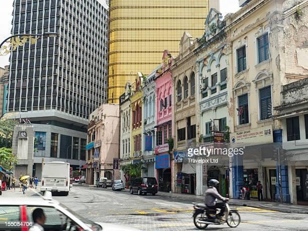 Typical street scene, Kuala Lumpur, Malaysia