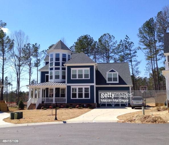 American suburban houses pictures getty images for The house raleigh