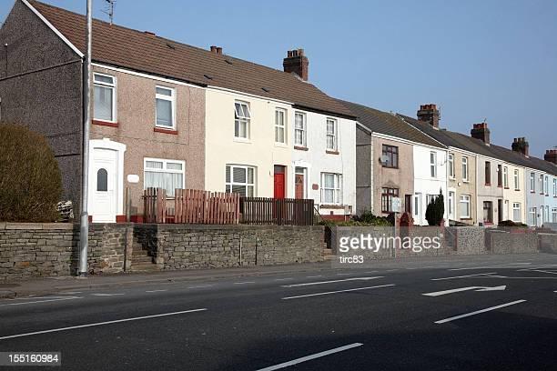 Tipica Regno Unito municipal alloggiamento