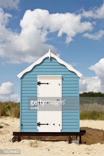 Typically English beach hut