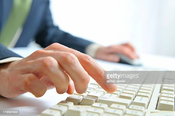 Typing on PC