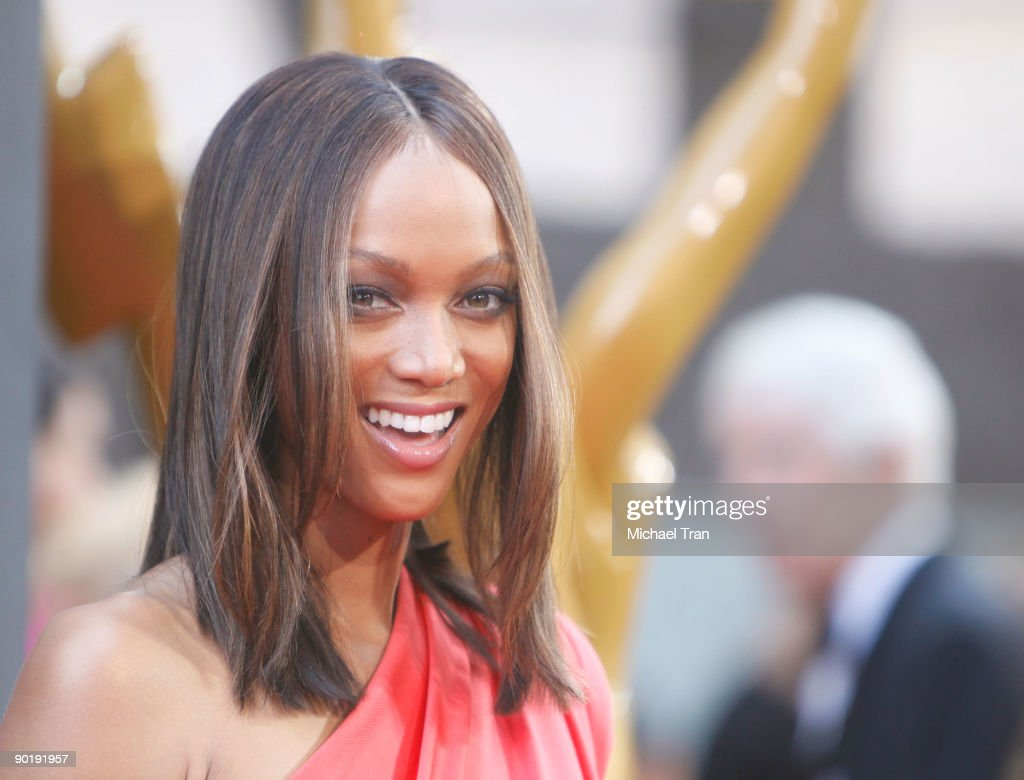 Tyra Banks arrives to the 36th Annual Daytime Emmy Awards held at The Orpheum Theatre on August 30, 2009 in Los Angeles, California.