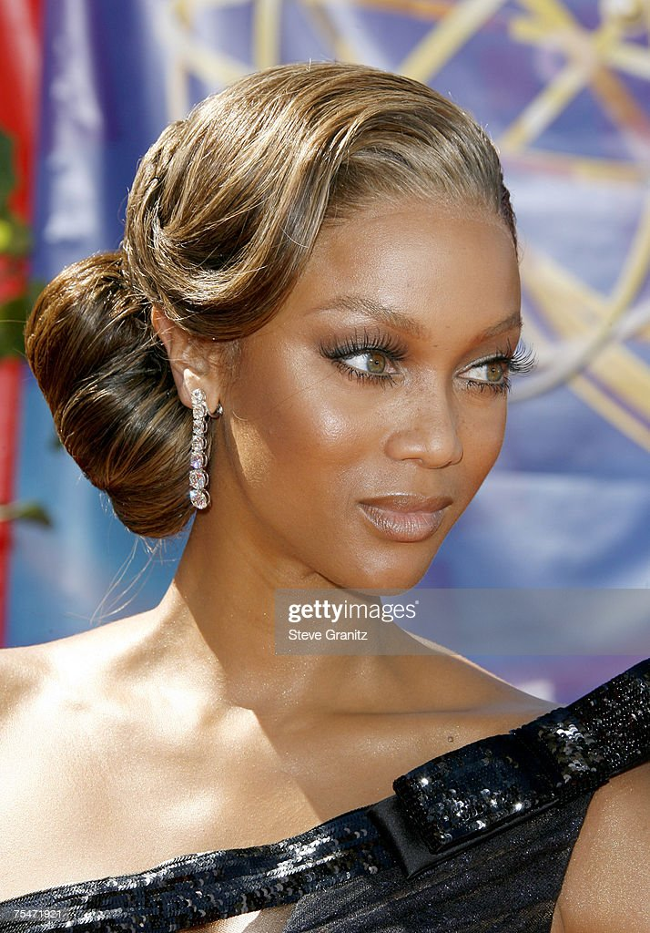Tyra Banks at the Shrine Auditorium in Los Angeles California