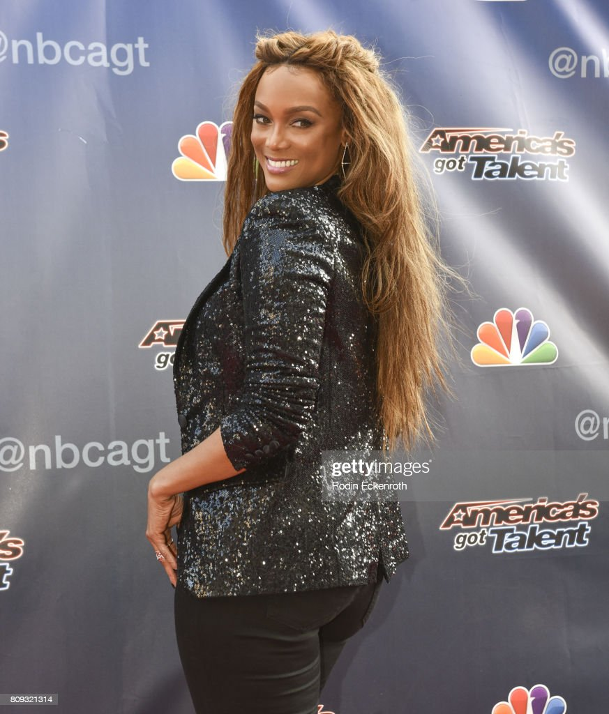 Americas got talent 2017 nz - Tyra Banks Attends Nbc S America S Got Talent Judge Cut Rounds At Nbc Universal Lot