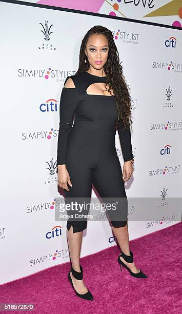 Tyra Banks attends Simply Stylist 'Do What You Love' Fashion and Beauty Conference at The Grove on March 19 2016 in Los Angeles California
