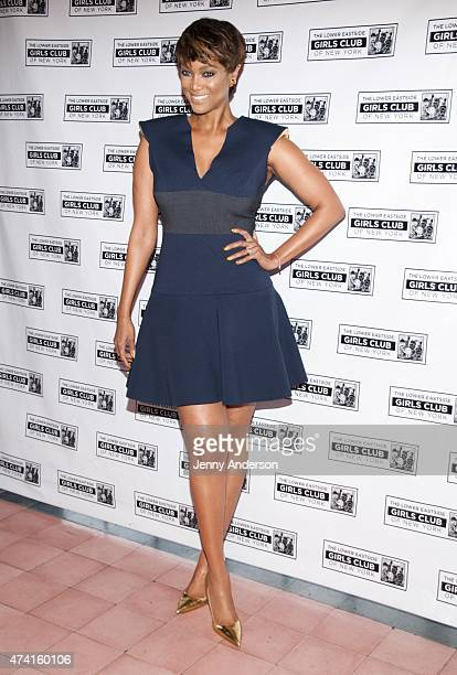 Tyra Banks attends the 2015 Lower Eastside Girls Club Spring Benefit at Bowery Hotel Terrace on May 20 2015 in New York City