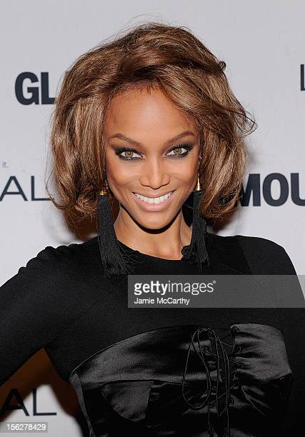 Tyra Banks attends the 22nd annual Glamour Women of the Year Awards at Carnegie Hall on November 12 2012 in New York City