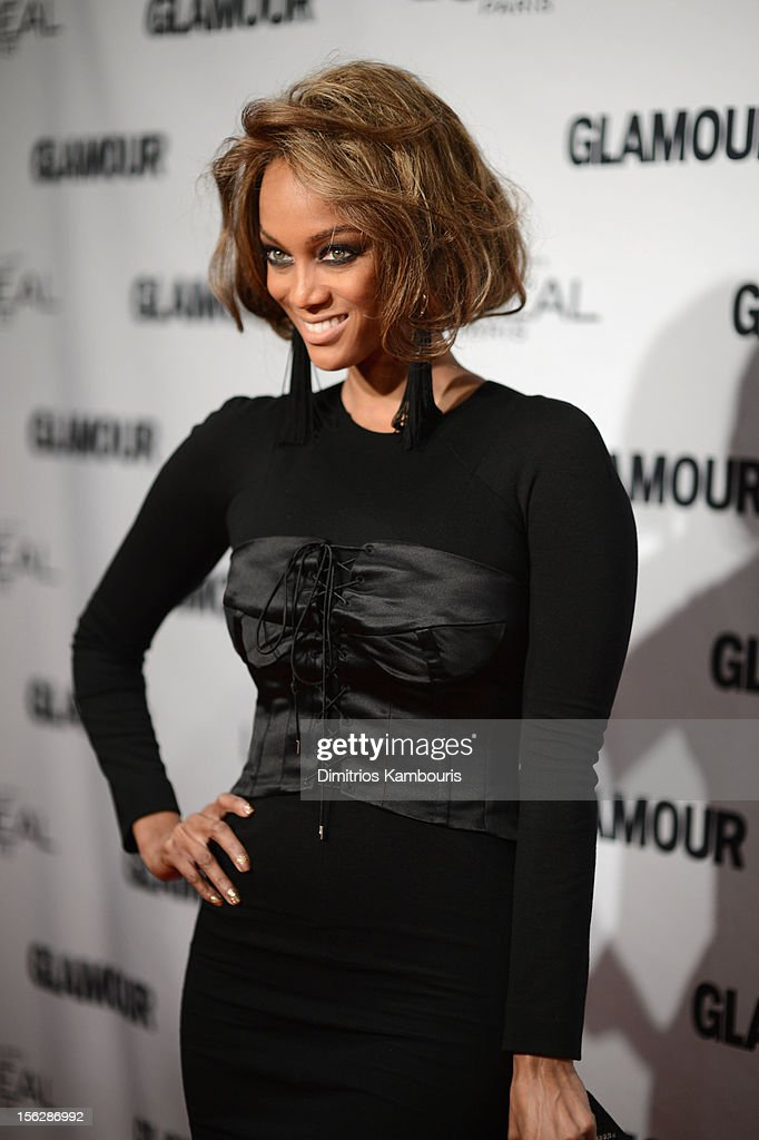 Tyra Banks attends the 22nd annual Glamour Women of the Year Awards at Carnegie Hall on November 12, 2012 in New York City.