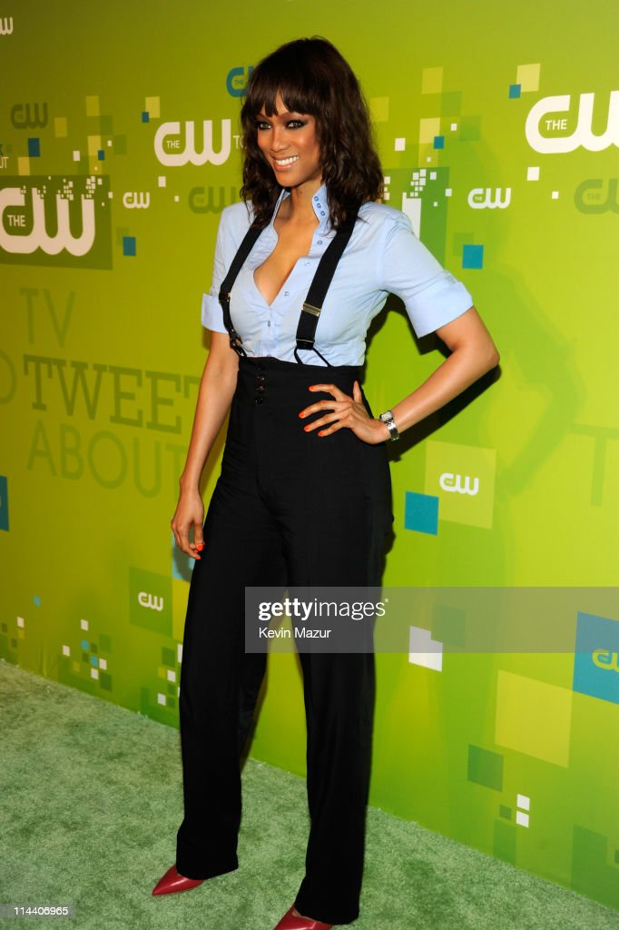 Tyra Banks attends the CW Network's 2011 Upfront at Jazz at Lincoln Center on May 19, 2011 in New York City.