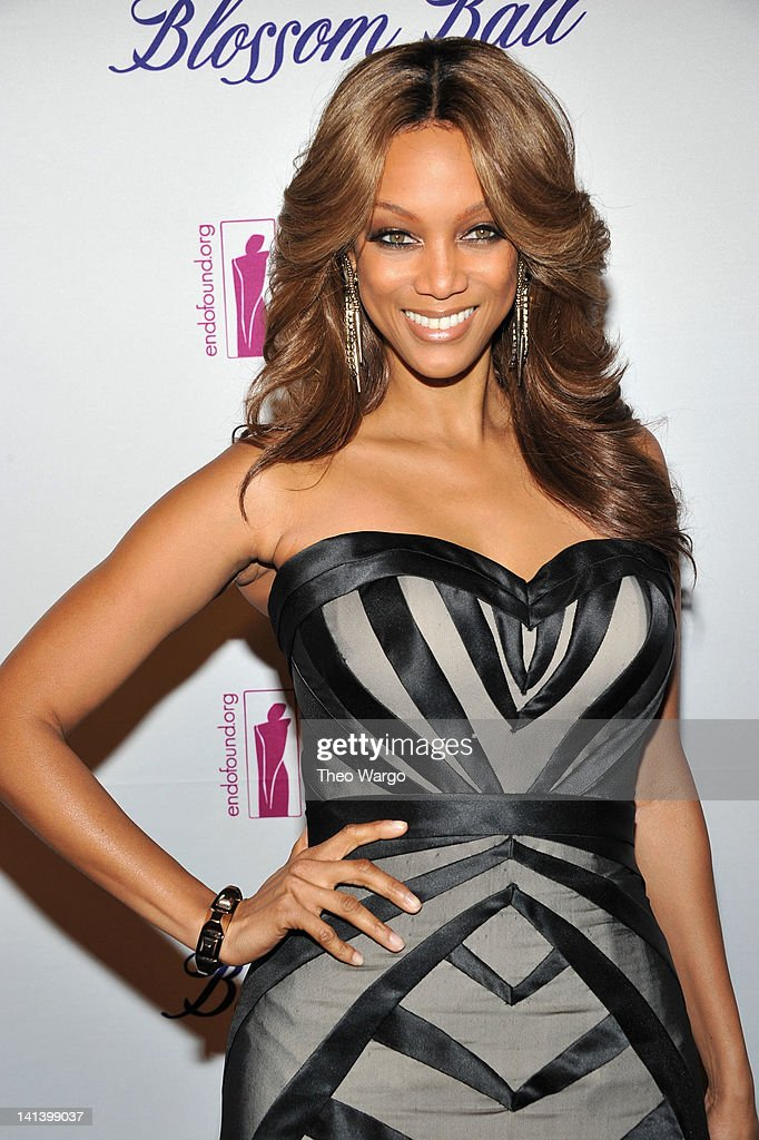 Tyra Banks attends the Endometriosis Foundation of America's 4th annual Blossom Ball at The New York Public Library Stephen A Schwarzman Building on...