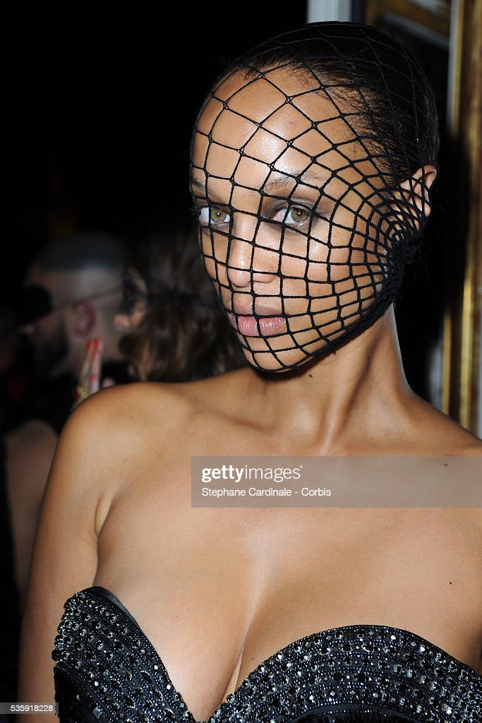 Tyra Banks attends the Vogue 90th Anniversary Party in Paris.