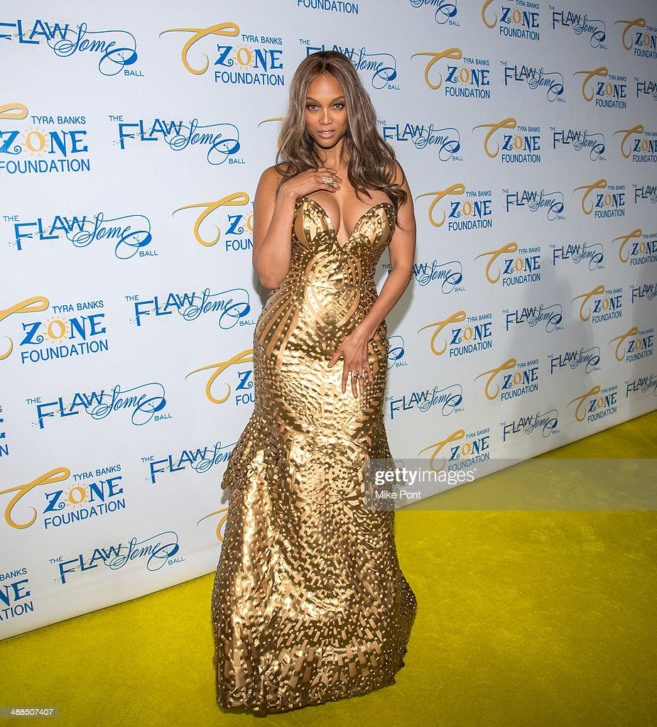 <a gi-track='captionPersonalityLinkClicked' href=/galleries/search?phrase=Tyra+Banks&family=editorial&specificpeople=202216 ng-click='$event.stopPropagation()'>Tyra Banks</a> attends <a gi-track='captionPersonalityLinkClicked' href=/galleries/search?phrase=Tyra+Banks&family=editorial&specificpeople=202216 ng-click='$event.stopPropagation()'>Tyra Banks</a>' Flawsome Ball 2014 at Cipriani Wall Street on May 6, 2014 in New York City.