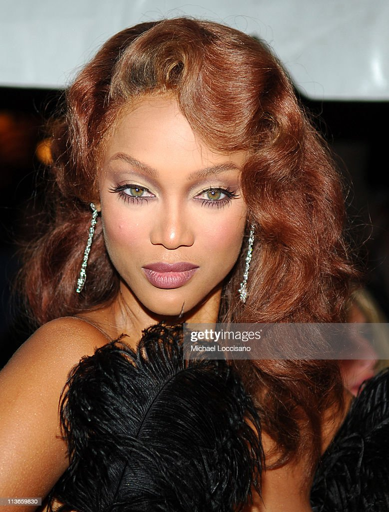 Tyra Banks during 32nd Annual Daytime Emmy Awards Arrivals at Radio City Music Hall in New York City New York United States