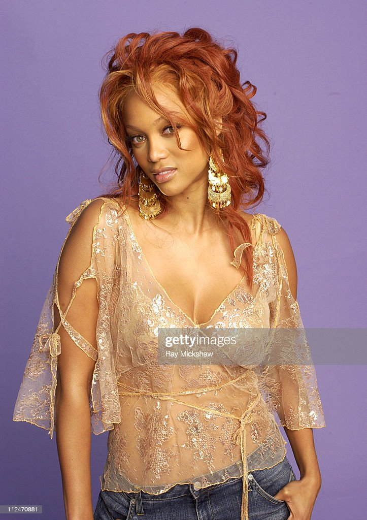 Tyra Banks during Fox Portrait Studio at the 2004 Teen Choice Awards at Universal Ampitheatre in Universal City California United States