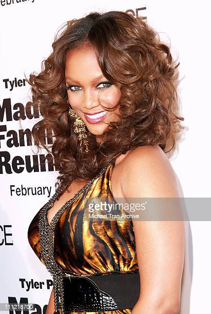 Tyra Banks during Lionsgate Presents 'Madea's Family Reunion' Los Angeles Premiere Arrivals at Cinerama Dome in Los Angeles California United States