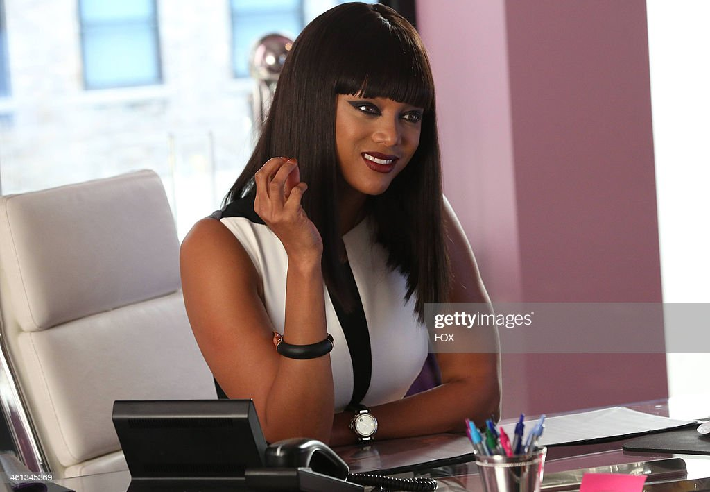 Tyra Banks in the 'Movin' Out' episode of GLEE airing Thursday Nov 21 2013 on FOX
