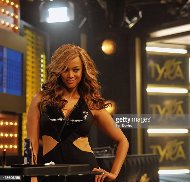 Tyra Banks influential supermodel and superbusinesswoman introduces her new beauty line TYRA beauty during a twohour primetime Makeup Fierce Up...