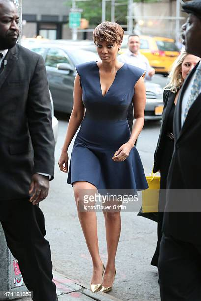 Tyra Banks is seen on May 20 2015 in New York City