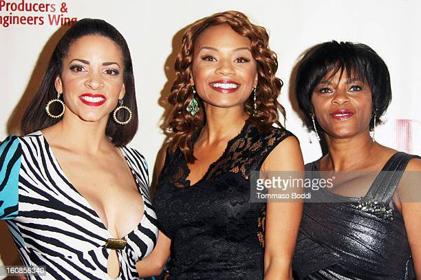 Tyra Colar and guests attend The Producers Engineers Wing of The Recording Academy's 6th annual GRAMMY event 'An Evening Of Jazz' held at The Village...