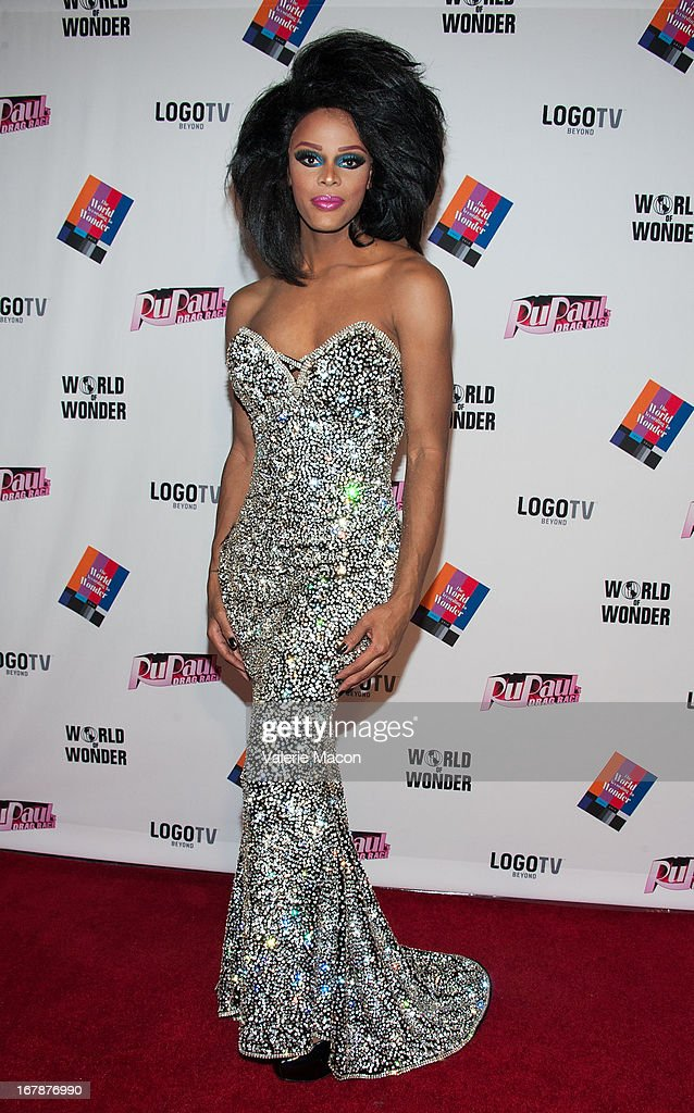 Tyra Sanchez attends the Finale, Reunion & Coronation Taping Of Logo TV's 'RuPaul's Drag Race' Season 5 on May 1, 2013 in North Hollywood, California.