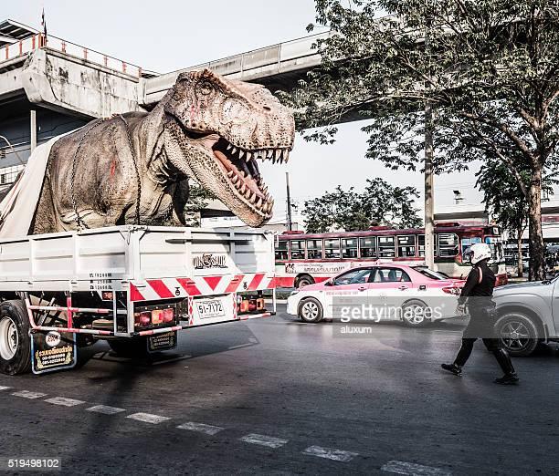 Tyrannosaure Rex à Bangkok, Thaïlande