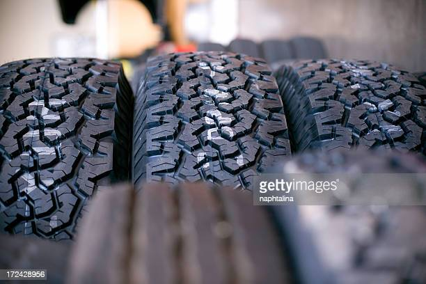 Tyre shop detail
