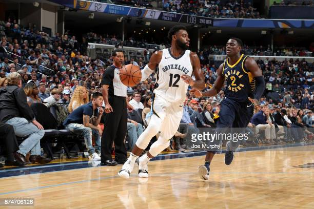 Tyreke Evans of the Memphis Grizzlies handles the ball against the Indiana Pacers on November 15 2017 at FedExForum in Memphis Tennessee NOTE TO USER...