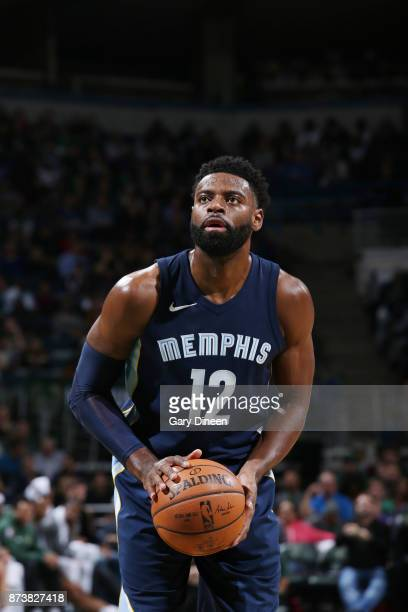 Tyreke Evans of the Memphis Grizzlies shoots the ball against the Milwaukee Bucks on November 13 2017 at the BMO Harris Bradley Center in Milwaukee...