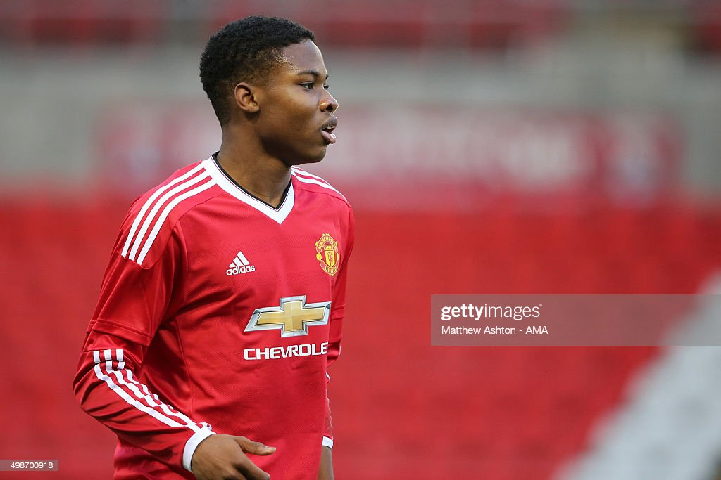 Manchester United FC v PSV Eindhoven - UEFA Youth League : News Photo