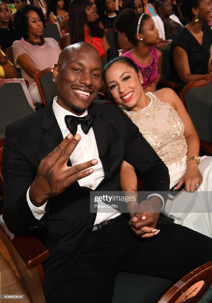 Tyrese (L) and Samantha Lee Gibson attend Black Girls Rock! 2017 at NJPAC on August 5, 2017 in Newark, New Jersey.