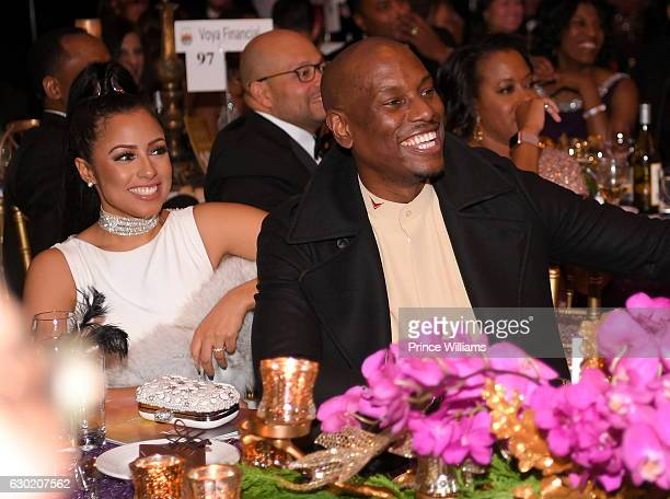 Tyrese attends the 33rd Annual UNCF Mayors Masked Ball at Atlanta Marriott Marquis on December 17 2016 in Atlanta Georgia